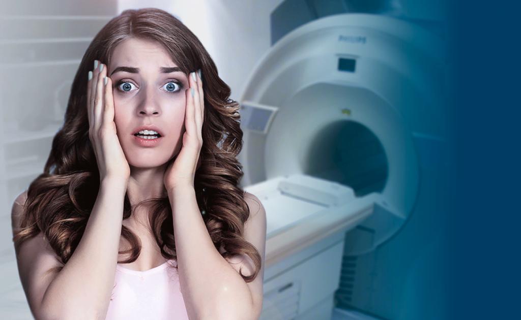 Como vencer o medo da ressonância magnética